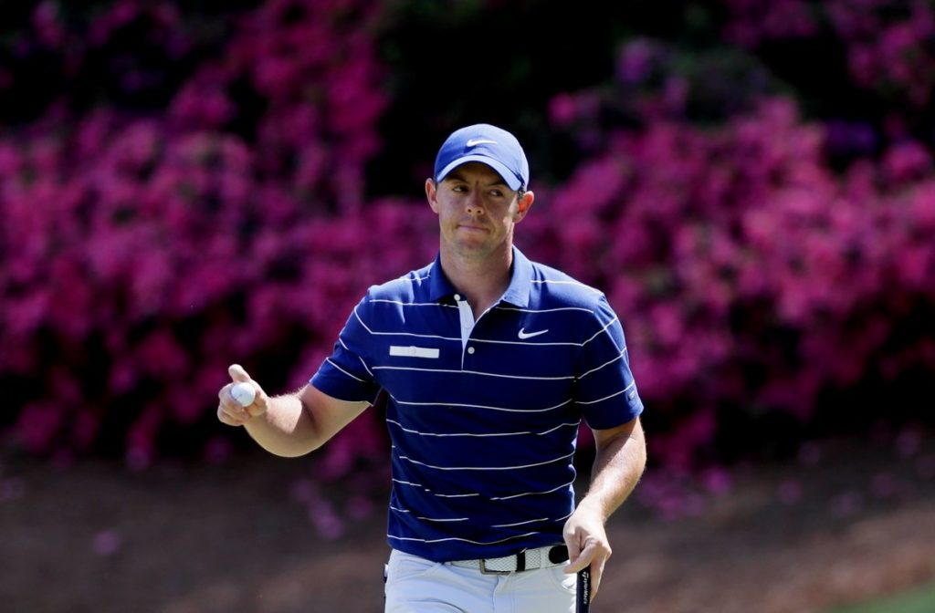 McIlroy has it all to do at Augusta