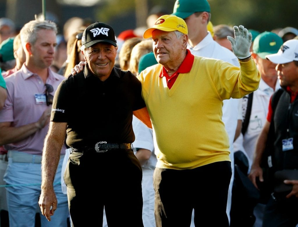 Player maintains Masters bragging rights as play gets under way at Augusta