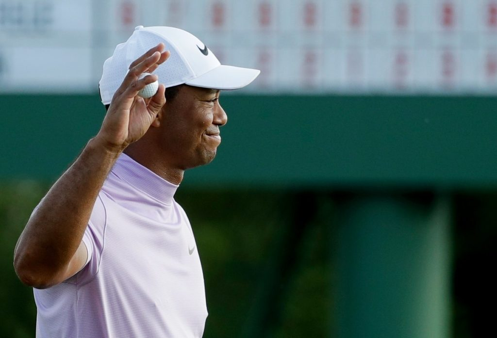 Tiger Woods is two shots off the lead heading into the final round of the Masters