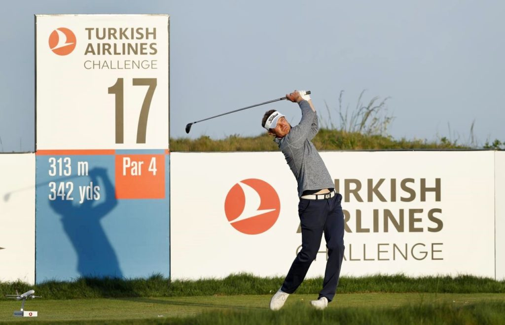 Haastrup struts round Samsun to lead after Day Two, © Getty Images