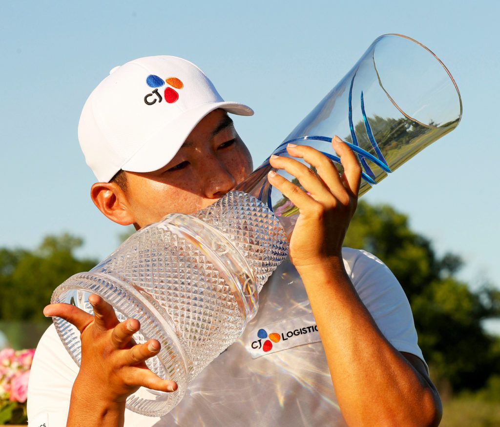 Sung Kang clinches maiden PGA win after marathon final day in AT&T Byron Nelson
