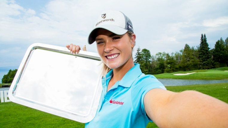 Jabra Ladies Open R3 - Annabel Dimmock wins Jabra Ladies Open by one shot