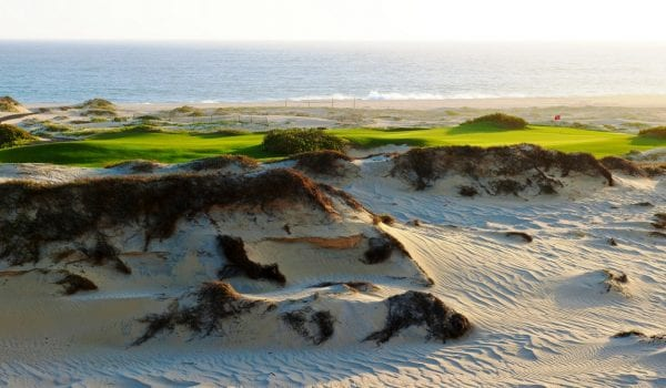 Brian McCallen interview, Diamante, Dunes Course / 17th hole