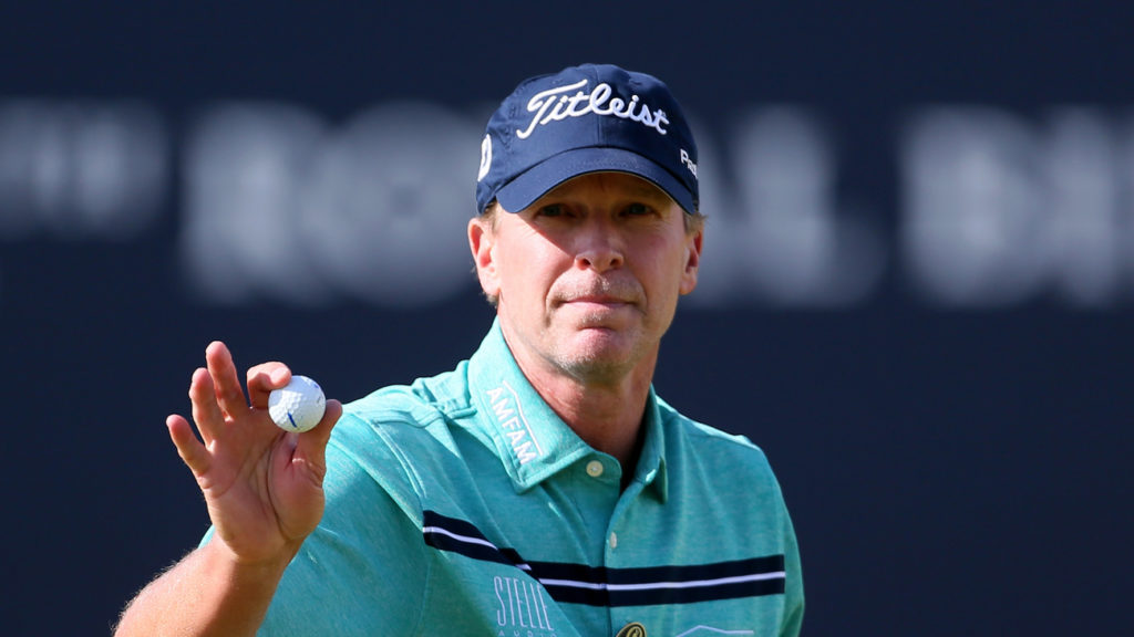 Steve Stricker will captain the United States at Whistling Straits (Richard Sellers/PA)