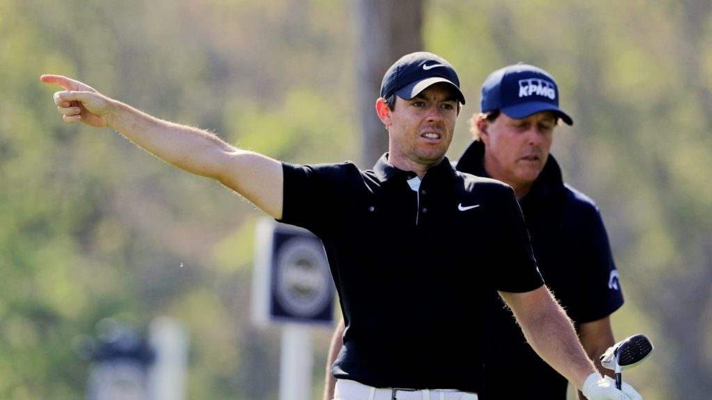 Rory McIlroy got off to a nightmare start on day two of the US PGA (Charles Krupa/AP)