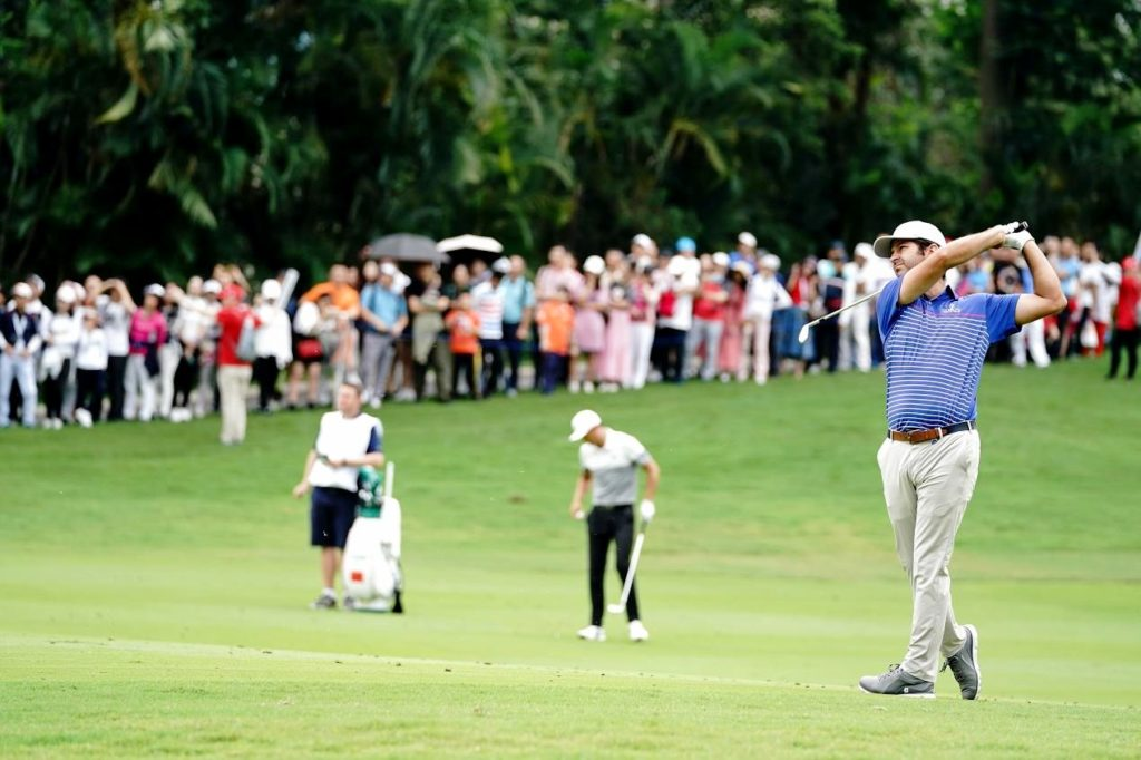 Campillo continues scintillating form in Volvo China Open, © Getty Images