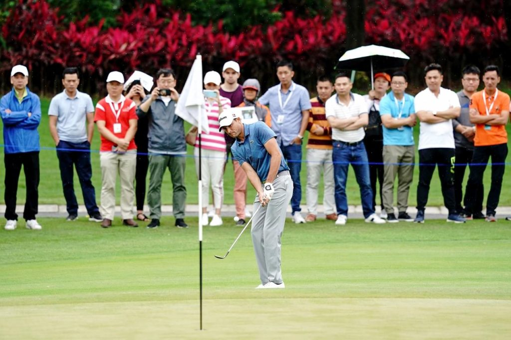 Hebert storms into lead with late great 28 in Volvo China Open, © Getty Images