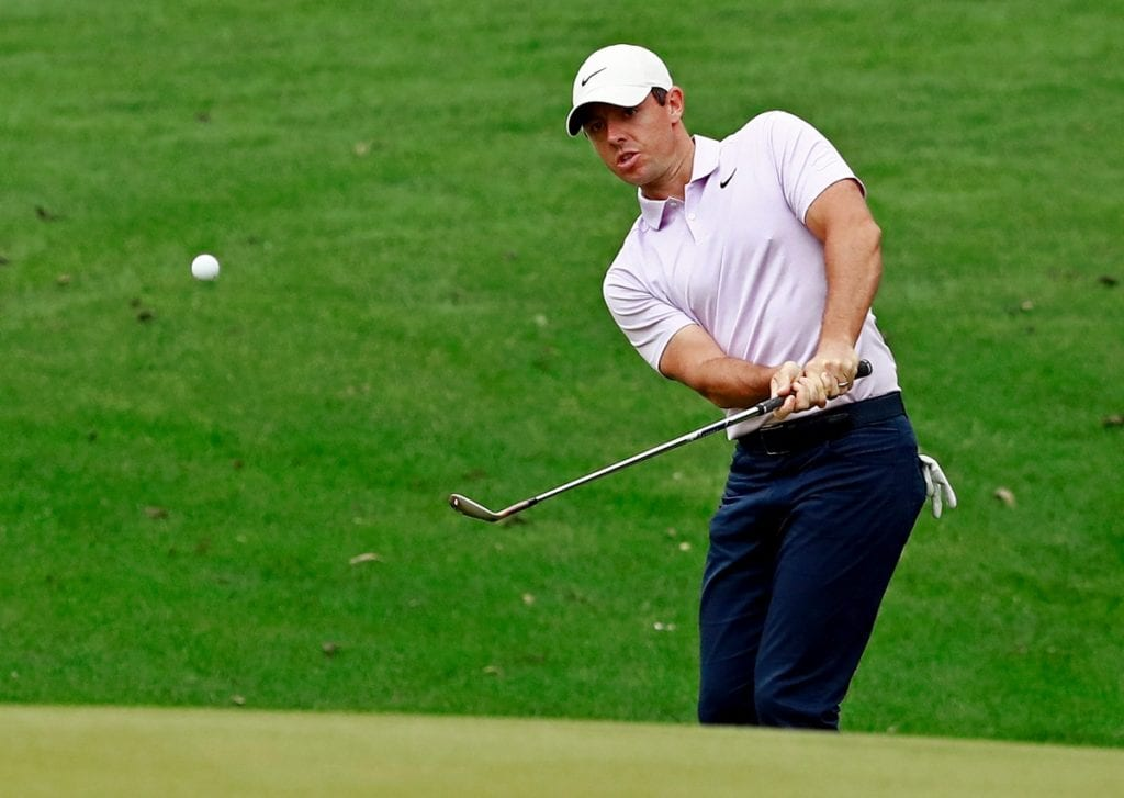 Rory McIlroy shot a second-round 70 at the Wells Fargo International