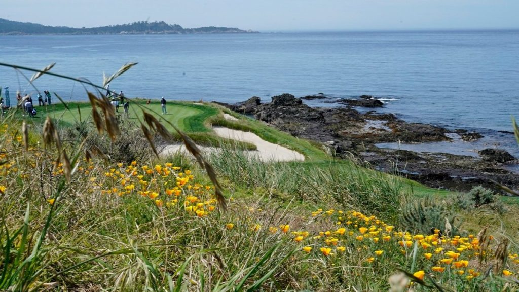Pebble Beach is renowned for its tough rough. (David J. Phillip/AP)