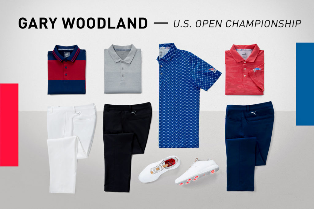 PUMA Athletes to Sport Fresh PUMA Golf Apparel and Footwear along with a Custom COBRA + Vessel US Open Tour Staff Bag