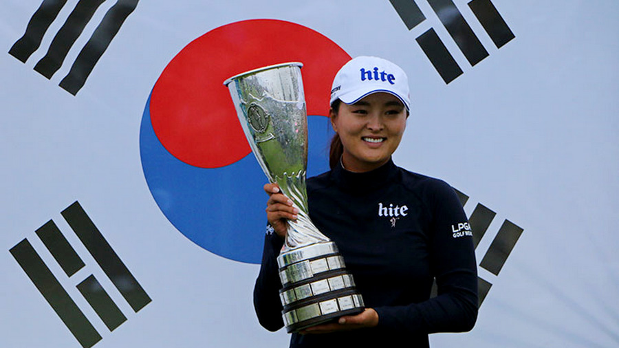 Evian Championship R4 - Jin Young Ko claims a two stroke victory