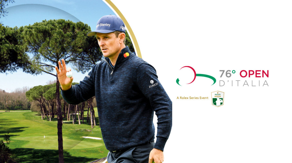 Justin Rose joins Ryder Cup team mates in Rome