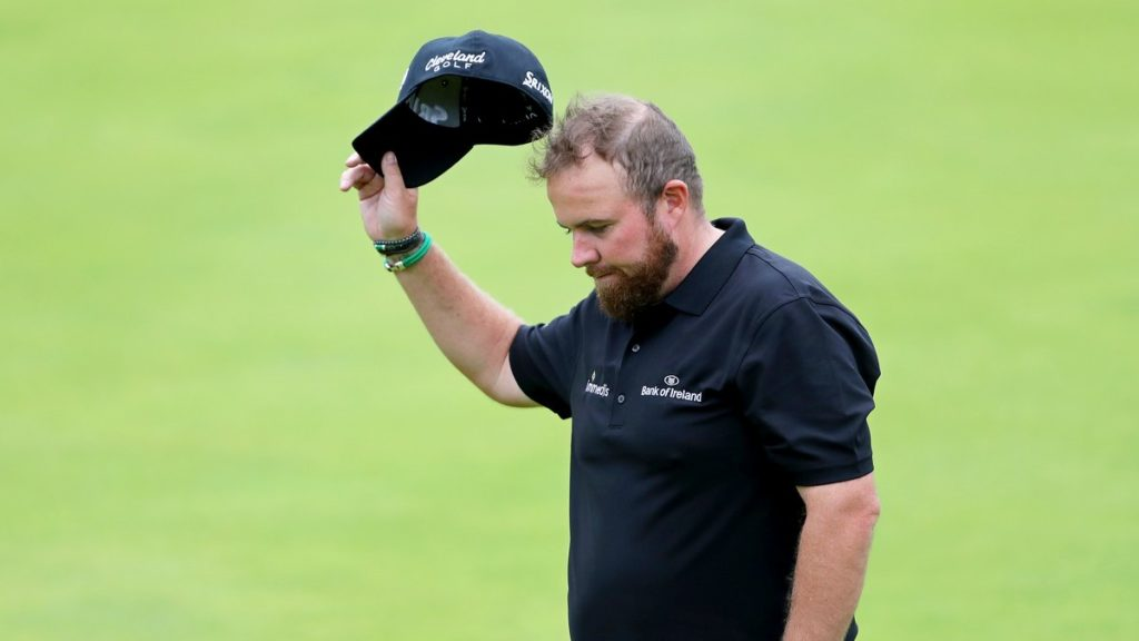The Open Championship R2 - Lowry ready to carry Irish hopes as he co-leads the Open with two days to go
