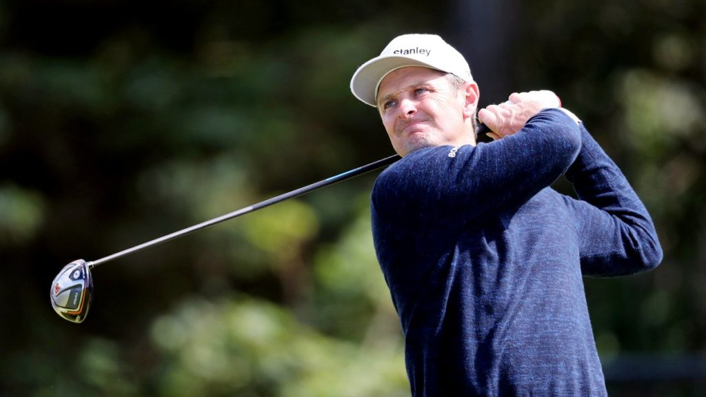 The Open Championship R3 - Justin Rose has not thrown in the towel just yet despite trailing the leader by seven (Niall Carson/PA)