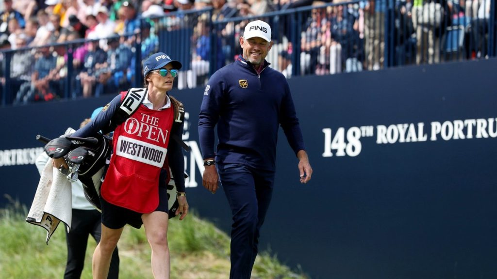 Westwood continues Open form