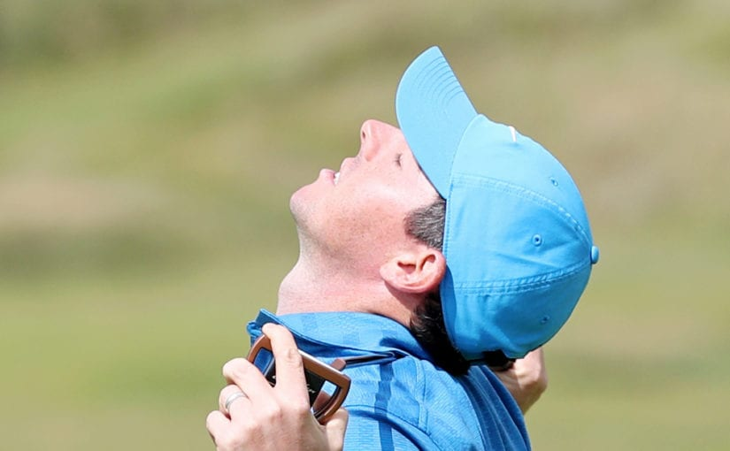 Nightmare round for McIlroy