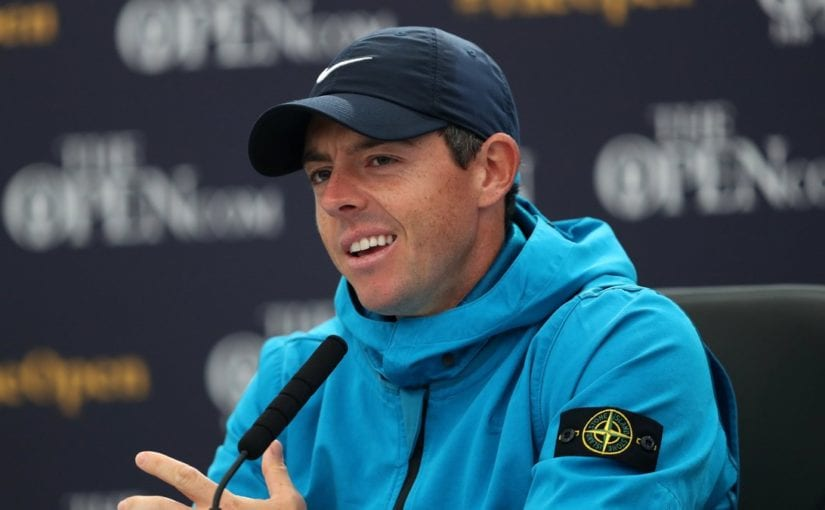 The Open McIlroy keen to shun spotlight during bid for Open