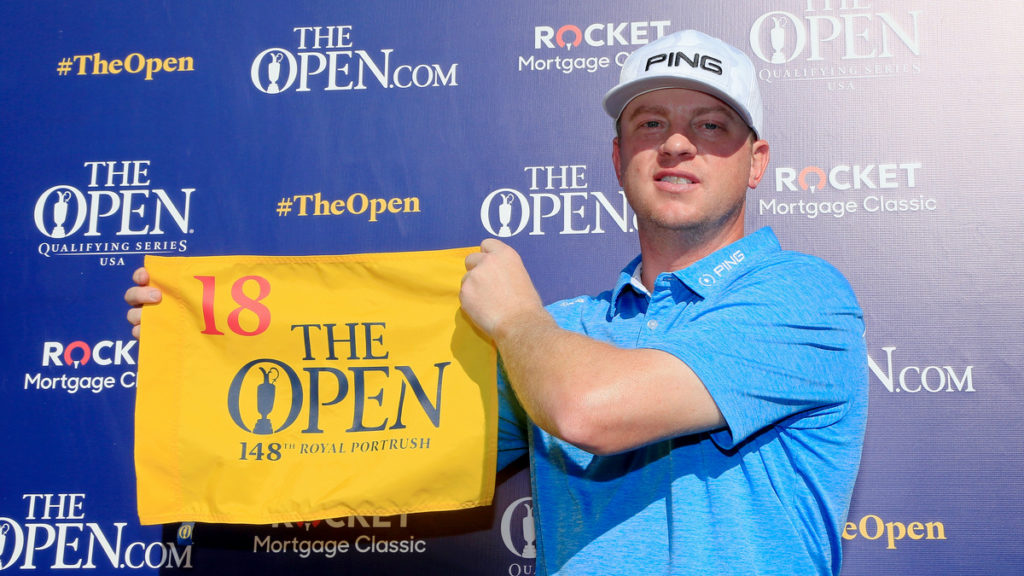 Lashley and Redman qualify for The 148th Open at Royal Portrush
