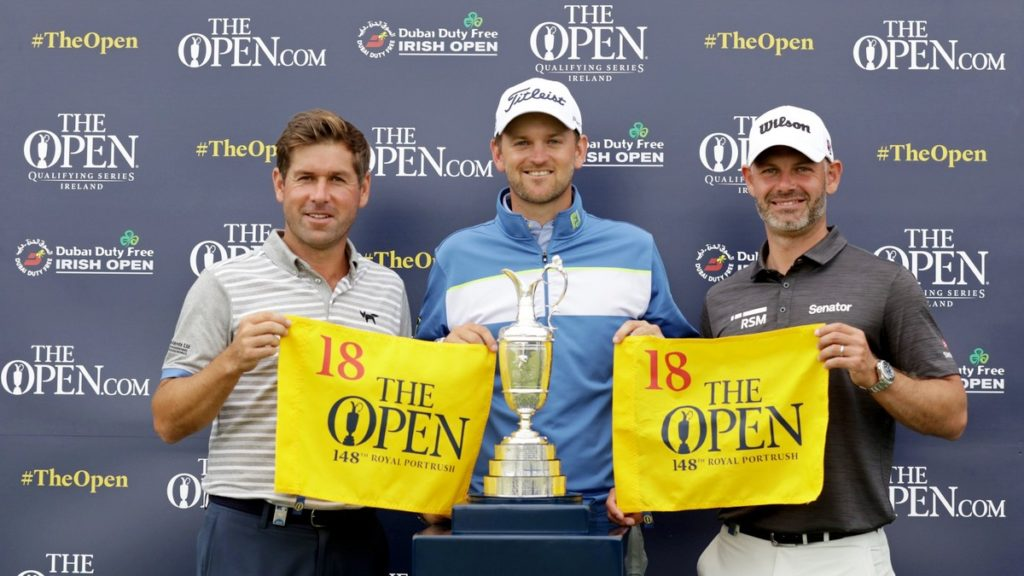 Wiesberger Rock Waring qualify for the 148th Open