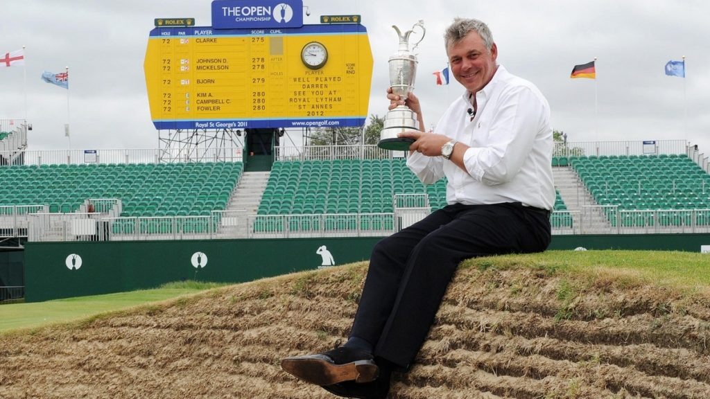 149th Open sales soar - Darren Clarke won the last Open to be held at Royal St George's in 2011