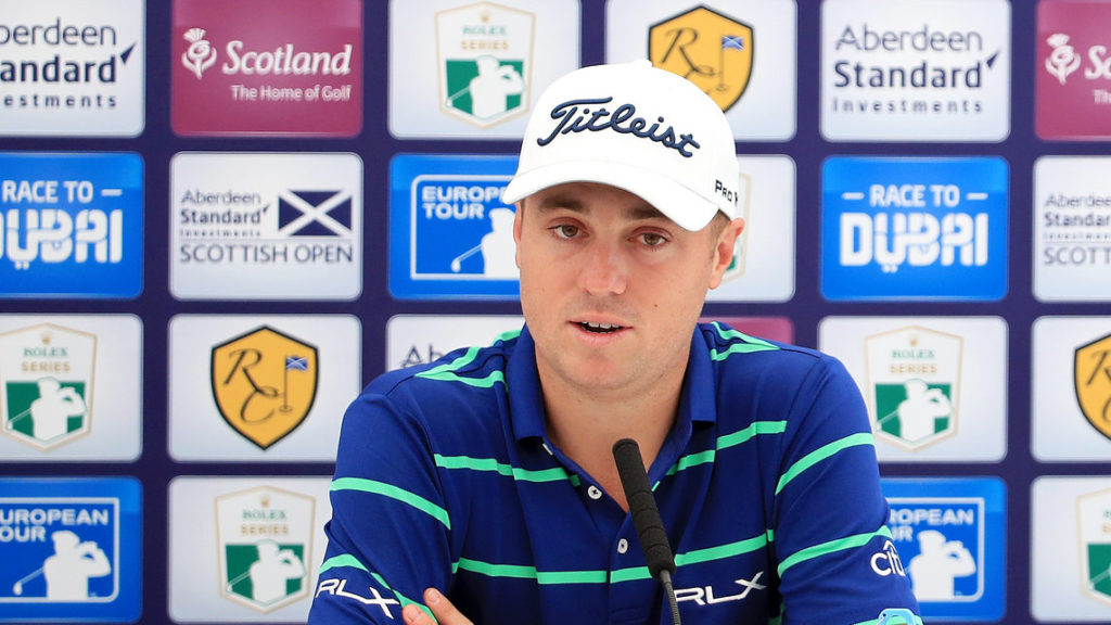 Thomas Scottish Open debut - Justin Thomas relishing the test posed at The Renaissance Club this week