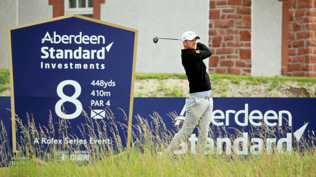 ASI Scottish Open R2 - Bernd shares the lead after birdie blitz in North Berwick