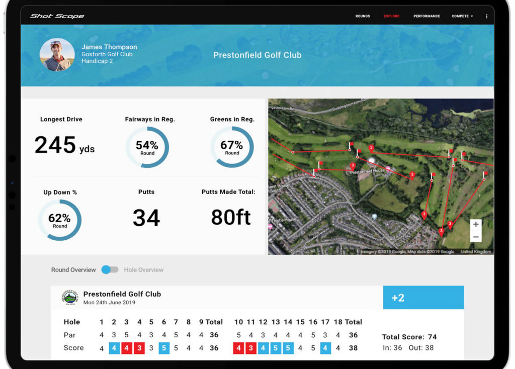 Shot Scope launches exciting new social hub designed to help golfers improve their game