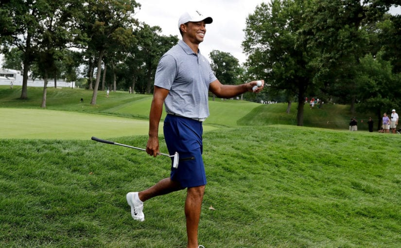 Woods determined to qualify for Tour Championship after positive update