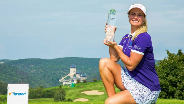 Czech Ladies Open R3 - Scotland's Carly Booth ended a seven year wait for her third Ladies European Tour title