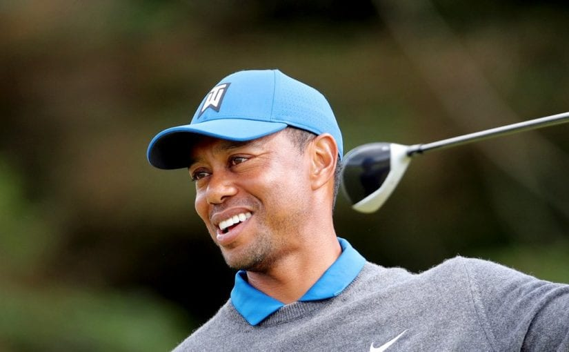 Too close for comfort - Tiger Woods will contest the first two FedEx Cup play-off events (Richard Sellers/PA)