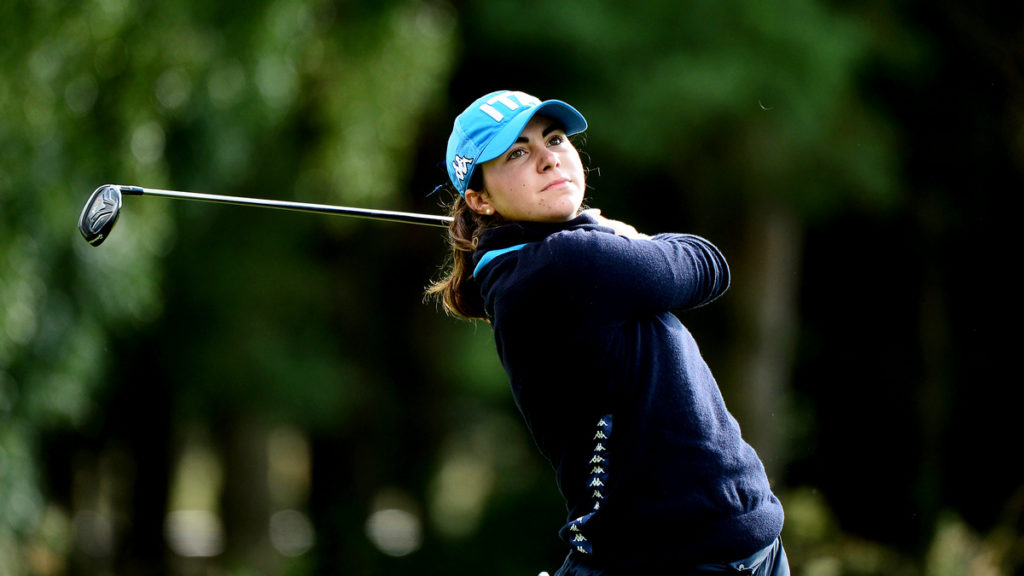 Alessia Nobilio leads qualifiers at the centenary R&A Girls' Amateur Championship
