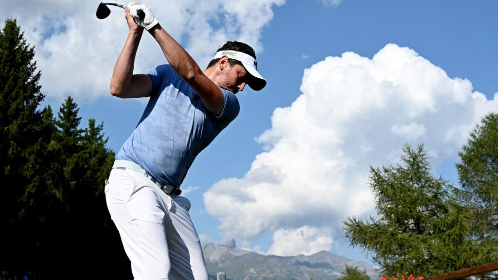 Omega European Masters R1 - Lorenzo-Vera and Schwab tied for the lead