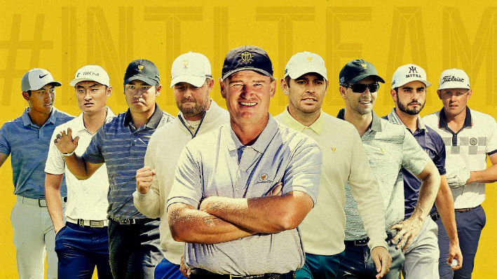 Top 8 officially qualified for Ernie Els' Presidents Cup team