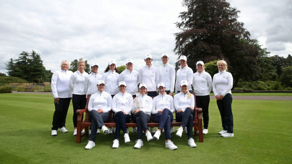 Line up complete for European Solheim Cup Team 2019