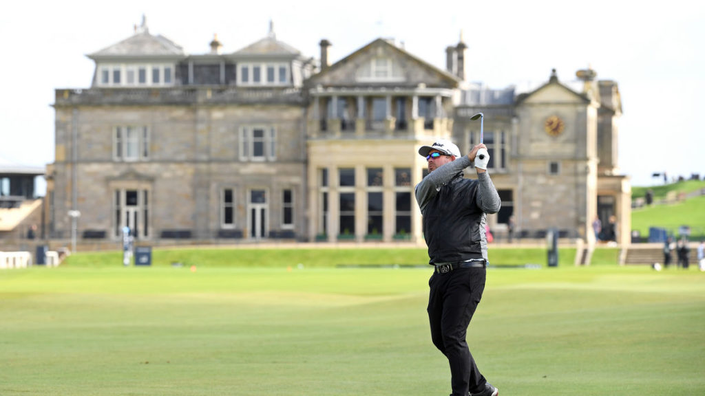 Alfred Dunhill Links R1 - Walters leads in St Andrews