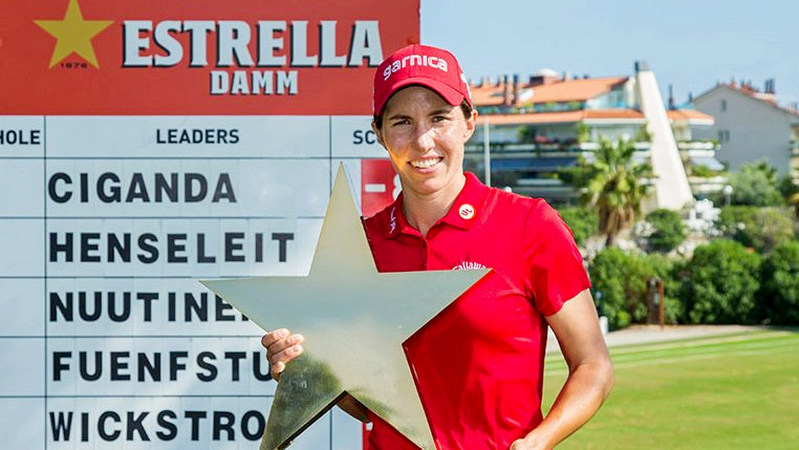 Mediterranean Ladies Open R4 - Ciganda carded a closing 71 to win her first LET event in Spain