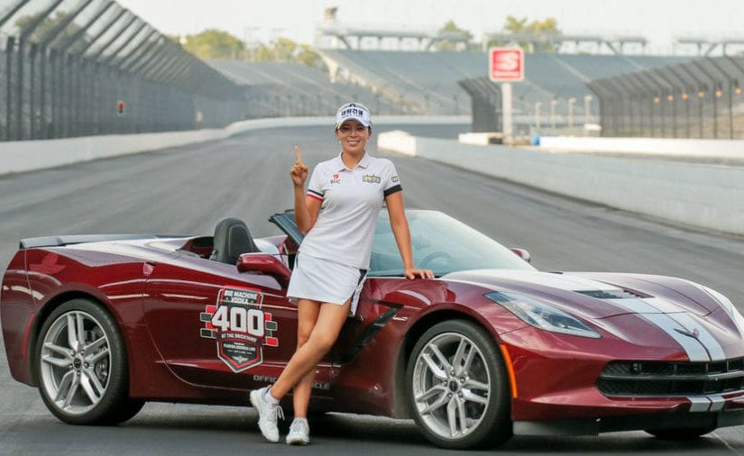 Indy Women in Tech Championship R4 - Mi Jung Hur completed a wire-to-wire victory at Brickyard Crossing