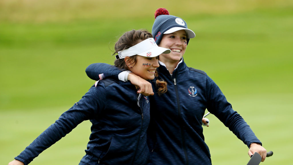 Junior Solheim Cup - Day 1 - USA leading 7½-4½