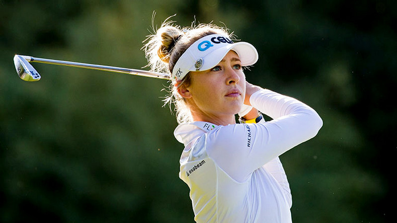 Lacoste Ladies Open de France R2 - Nelly Korda carded a 7-under 64 to take a six-stroke lead into the weekend on 10-under-par