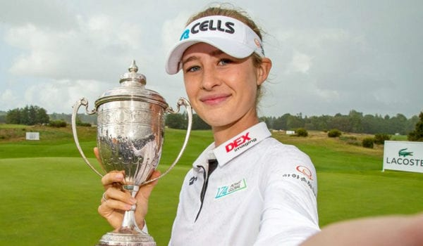 Open de France R4 - Nelly Korda shot a four-under 67 to win the Lacoste Ladies Open de France for her first Ladies European Tour title