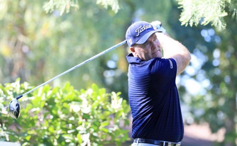 Paris Legends Championship R1 - Thomas Levet carded an opening round of 67 to end day one with a narrow lead as he chases a dream home victory