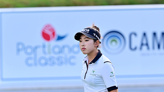 Cambia Portland Classic R3 - Monday qualifier Yealimi Noh took a three-shot lead heading into the final round with an 8-under 64 on Saturday