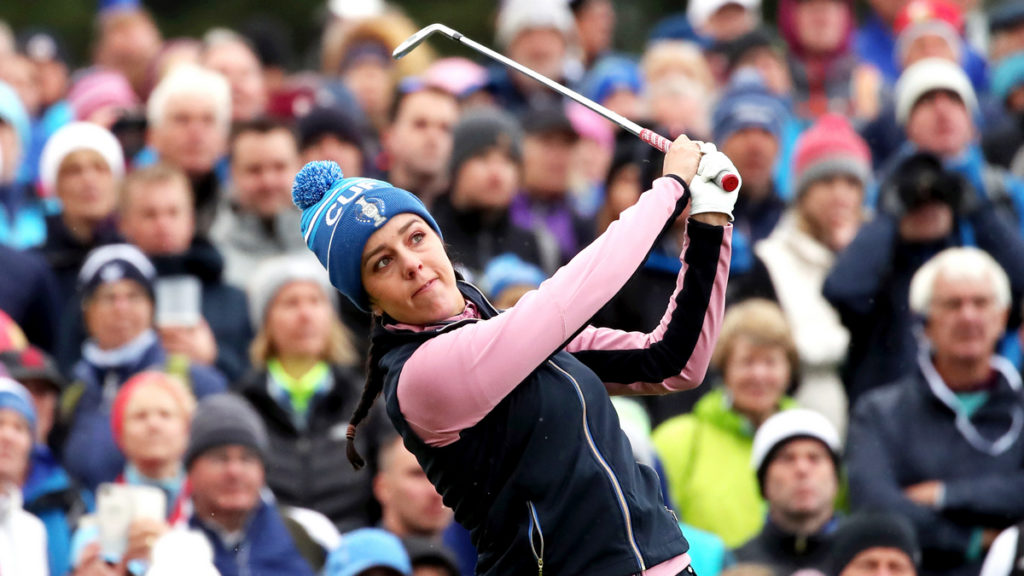 The Solheim Cup - Day 2 - Europe and USA level at 8-8