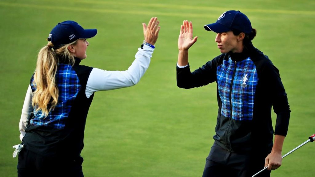 Solheim Cup - Day 1 - Europe 4½ - 3½ USA