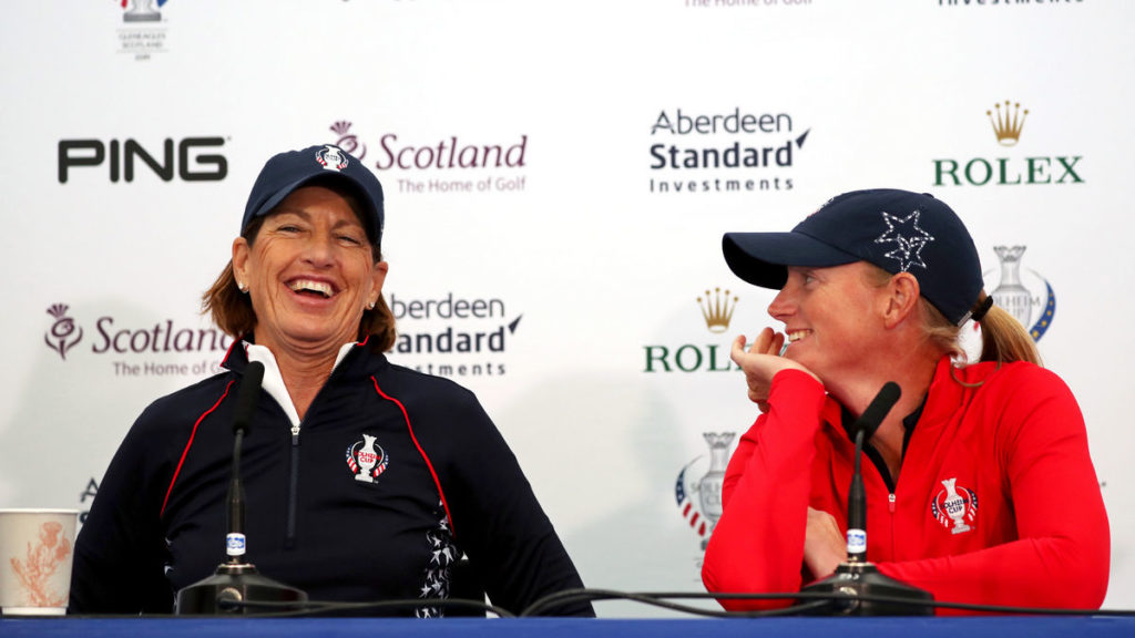 Solheim Cup - Lewis injury - replaced by Ally McDonald