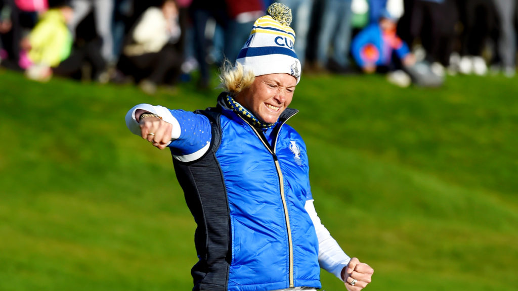 Catriona Matthew - Suzann Pettersen - Matthew paid tribute to Suzann Pettersen after she announced her retirement from professional golf