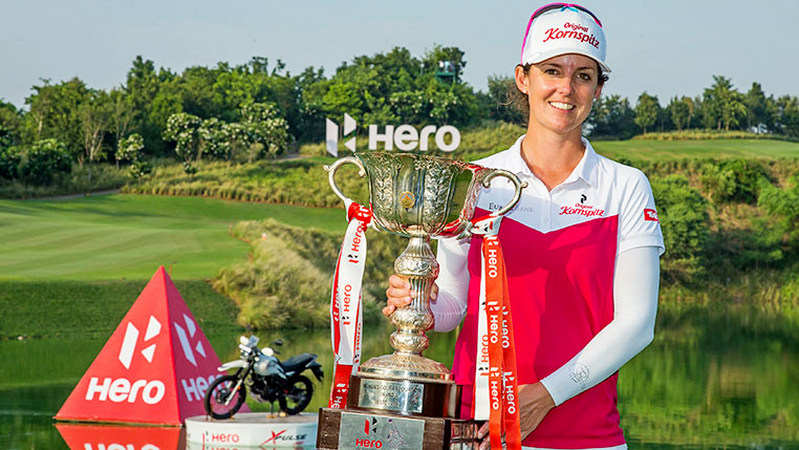 Hero Womens Indian Open R4 - Christine Wolf wins maiden win