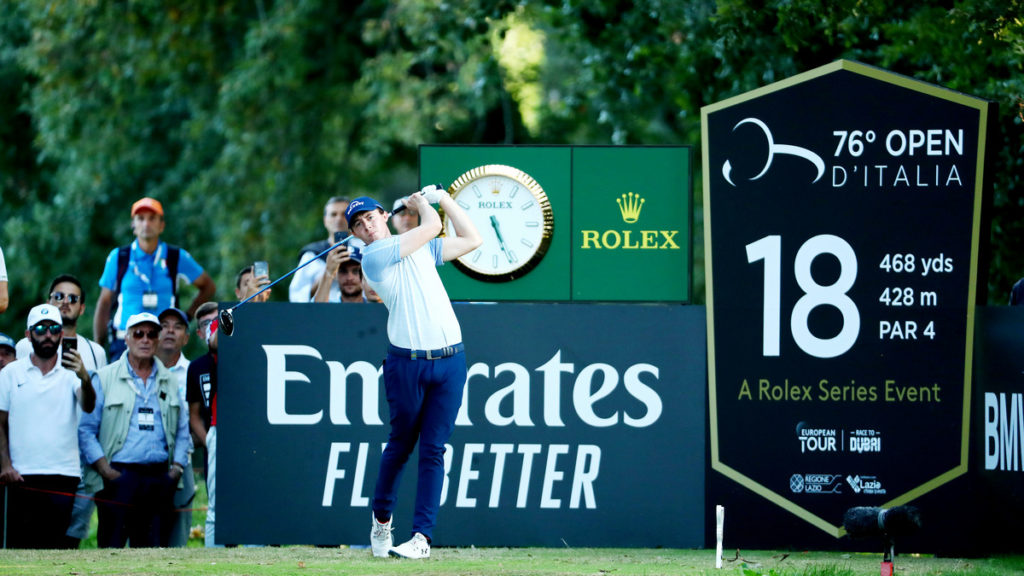 Italian Open R2 - Flying Fitzpatrick edges ahead in Italy