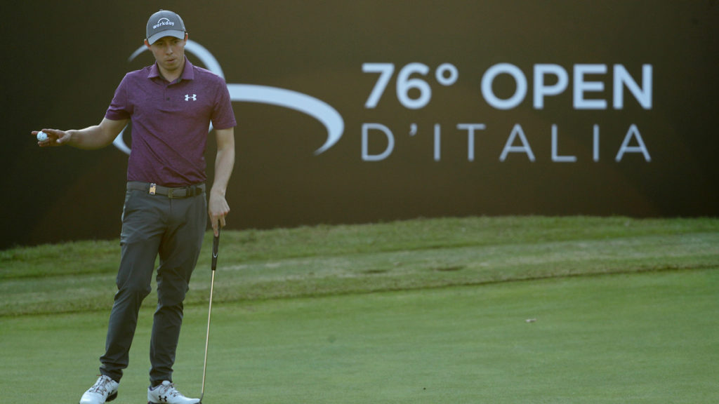 Italian Open R3 - Fitzpatrick staged an impressive fightback with four birdies in his final six holes to maintain his lead going into the final round