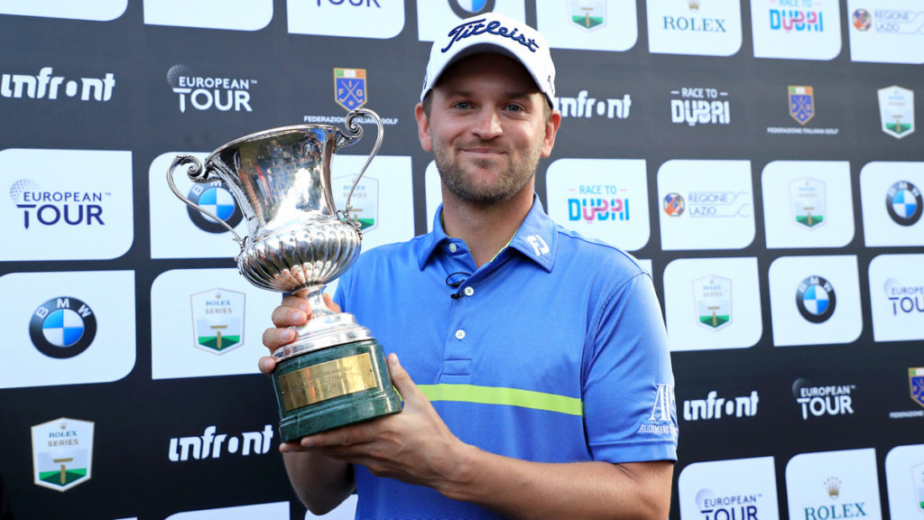 Italian Open R4 - Bernd Wiesberger claimed his second Rolex Series title of 2019 and third European Tour victory of the season with a hard-fought victory